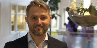 Head of Commercial Management i Telia Bedrift, Lars Setsaa. Foto: Telia.